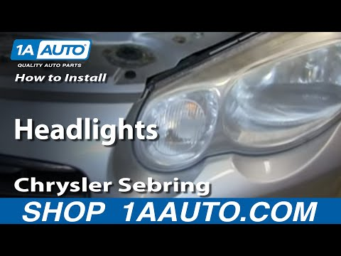 How To Replace Change Headlight And Bulb 04 09 Mazda 3