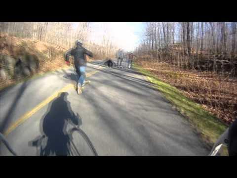 Bohdana Fall Spectacular Downhill Race