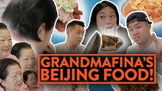 BEIJING FOOD w/ AWKWAFINA & GRANDMOTHER | Fung Bros