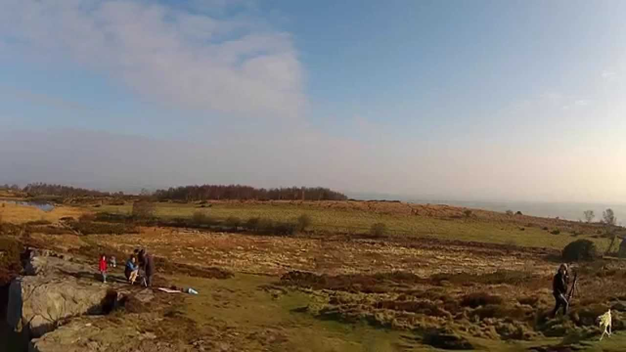 HEDCAMz   North Wales Solar Eclipse from a Drone