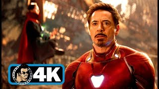 "AVENGERS: INFINITY WAR ""Tony's Plan"" Movie Clip (4K ULTRA HD)"