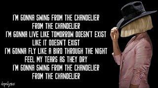 Download Lagu Chandelier - Sia (Lyrics) Gratis STAFABAND