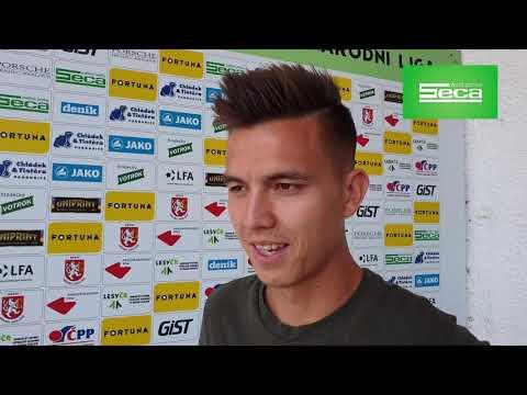Daniel Procházka: Chci hrát atraktivní fotbal a pomoct Hradci do ligy