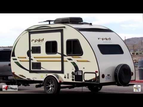 R-POD TRAVEL TRAILER ~ HOOD RIVER EDITION