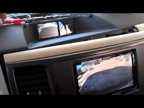 toyota sienna 2013 factory backup camera wire 2 youtube