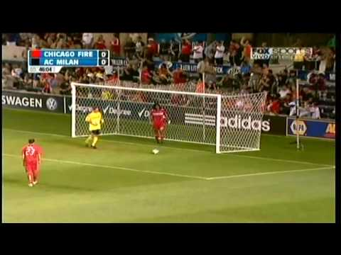 HD 720p Chicago Fire 0-1 AC Milan 05 30 2010 Amistoso FRIENDLY GAME Video