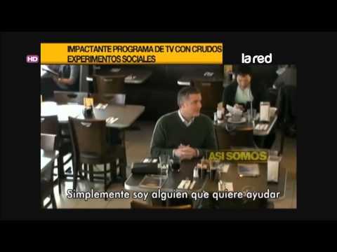 Impactante Programa De Televisión Con Experimentos Sociales
