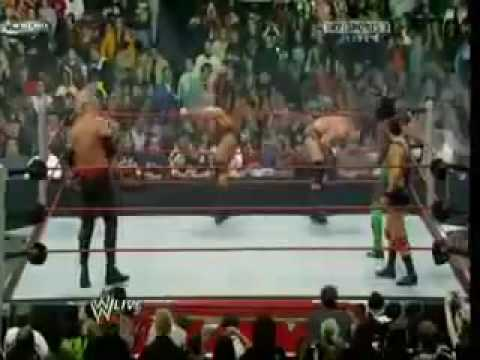 2009 Battle Royal The Legacy vs Santino Marella vs Kofi Kingston vs Kane