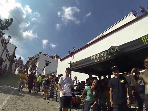 Backflip Frontflip Best tricks Urban Downhill Taxco Mexico 2013