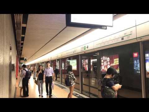 [觀塘綫延綫]往黃埔列車抵達旺角站