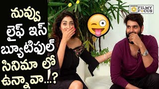 Shriya Saran Could n't Remember Sree Vishnu from Life is Beautiful Movie