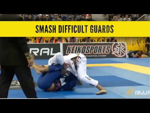 Finishing Guard Passes on Flexible and Difficult Opponents