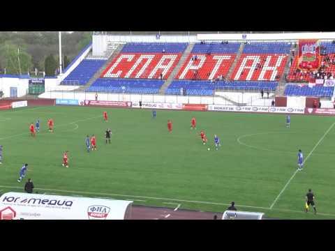 Спартак-Нч. -Тамбов  0-1   гол