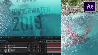 Underwater Logo l Adobe After Effects Bangla Toutorial 2019 l No Plugins