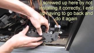Sliding Door Lock Actuator Fix - Town & Country - Caravan