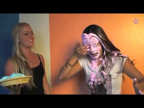 Girls Getting Pied Montage #1