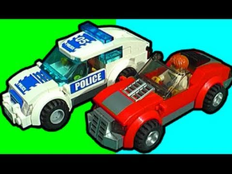 LEGO Police Car Chase - Big Guns Rule