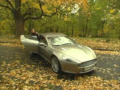 Aston Martin Rapide, тест-драйв