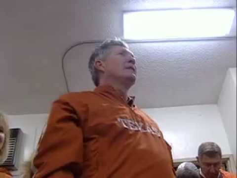 Texas Longhorns locker room after beating USC in the Rose Bowl Video