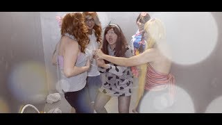 Girlfriends transform boyfriends into females for a day!