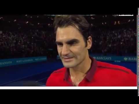 ATP World Tour Finals Roger Federer vs Andy Murray - post-match interview