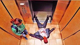 Топ10 ПРАНКОВ в Лифте!