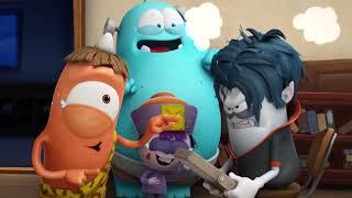 Spookiz | Spookiz научиться играть музыку | Мультфильмы для детей | WildBrain