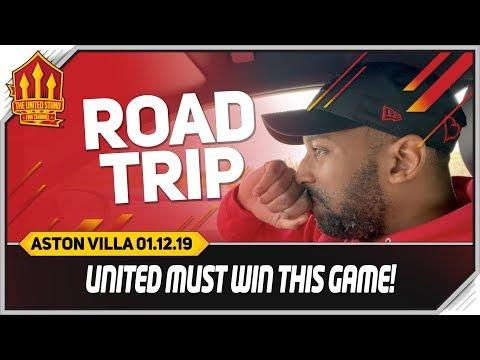 Manchester United vs Aston Villa Road Trip!