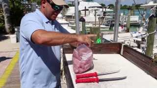 Rich Tudor of Saltwater Experience Shows Us How To Fillet Mahi-Mahi / Dolphin