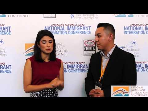 Diane Guerrero, from Orange Is The New Black - Interview at NIIC 2014