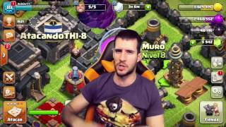 ATACANDO TU ALDEA TH 1 al 8 #43 - CLASH OF CLANS A POR TODAS CON ANIKILO