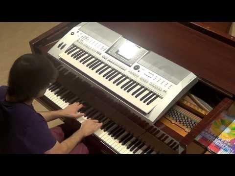 Lady Gaga - Venus - piano & keyboard synth cover by LIVE DJ FLO