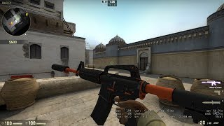 CSGO M4A1 ACE 1V5 MOVIE #Pikachu*