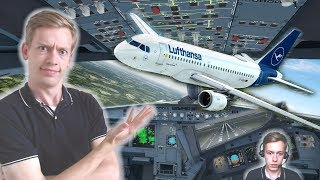 Boeing Fan Tries Airbus for the First Time! [P3D V4.3]