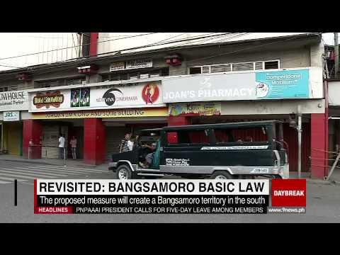 Revisited: Bangsamoro Basic Law