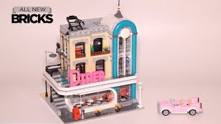 Lego Creator 10260 Downtown Diner Speed Build