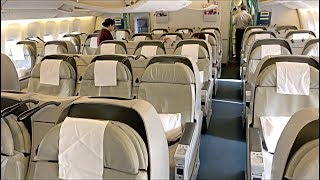 Pakistan International Airlines PIA Business Class PK204 B777-300ER from Dubai to Lahore