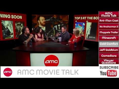 AMC Movie Talk - MINECRAFT Movie Coming, No ANCHORMAN 3