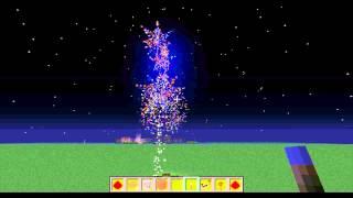 Minecraft как зделать фейверк