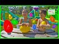 BIG EGG HUNT FOR HUGE SURPRISE EGGS + Golden Egg Surprise Ope...
