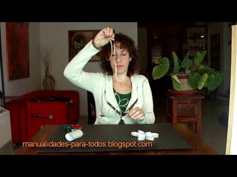 Manualidades de reciclaje - Flor