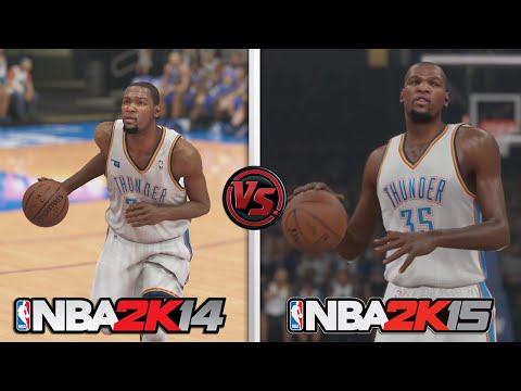 NBA 2K15 vs NBA 2K14 GRAPHICS! How much better is NBA 2K15?