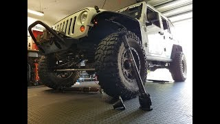 Adams Driveshaft 1350 X-TREME Duty CV driveshaft install | Jeep JKUR | DIY