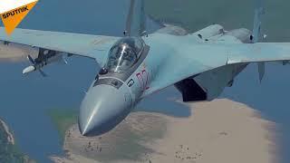 Những pha nhào lộn ngoạn mục của SU 35 Nga