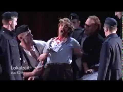 Premierenreport Tosca - Erste Premiere in der Oper Köln am Rhein - Lokalzeit 18.5.2012