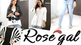 Huge Rosegal Try On Haul| Winter Cloths,Shoes,Bags|TipsToTop By Shalini