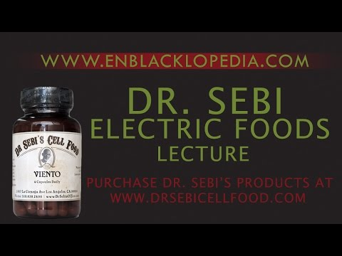 Dr. Sebi - Electric Food