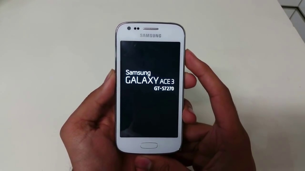 Samsung Galaxy Ace 3 (S7270) Hard Reset with Buttons