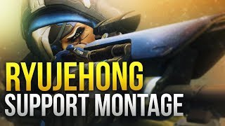 Ryujehong - World Class Support Montage - GOD Ana / Zenyatta - Overwatch Montage