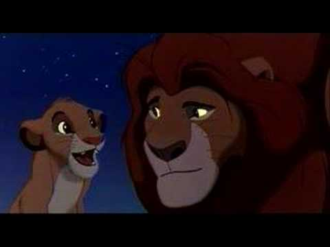 Lion King - Mufasa and Simba (English) Video